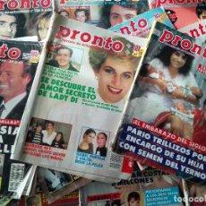 Coleccionismo de Revista Pronto: LOTE REVISTAS ANTIGUAS PRONTO - AÑOS 80. Lote 95722798