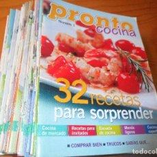 Coleccionismo de Revista Pronto: FASCICULOS, REVISTA PRONTO- COCINA - COLECCION COMPLETA - RECETAS. Lote 70013121