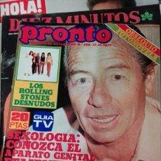 Coleccionismo de Revista Pronto: PRONTO KIKO LEDGARD. Lote 71463769