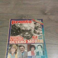Coleccionismo de Revista Pronto: REVISTA ANTIGUA (PRONTO). Lote 71825991