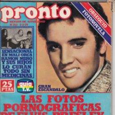 Coleccionismo de Revista Pronto: REVISTA PRONTO Nº 352 AÑO 1979.KATE JACKSON Y GAVIN MAC.LEOD.POSTER JACKYN SMITH ANGELES DE CHARLIE.. Lote 72119499