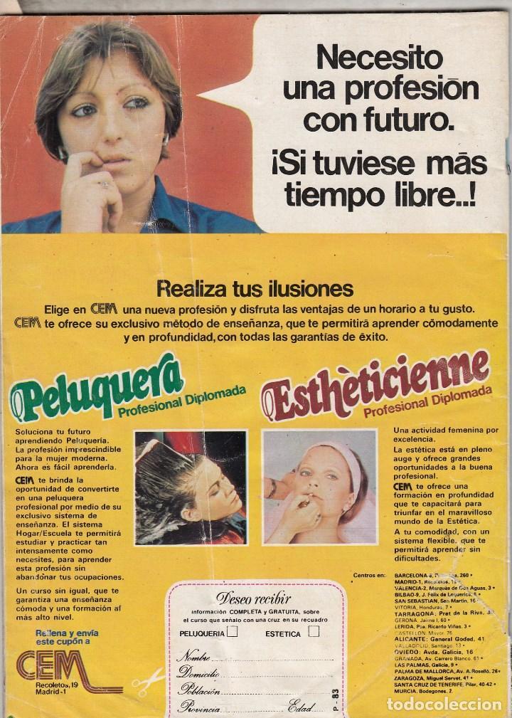 Coleccionismo de Revista Pronto: REVISTA PRONTO Nº 352 AÑO 1979.KATE JACKSON Y GAVIN MAC.LEOD.POSTER JACKYN SMITH ANGELES DE CHARLIE. - Foto 3 - 72119499