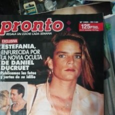 Coleccionismo de Revista Pronto: PRONTO 93 STEFANIA. Lote 74794922