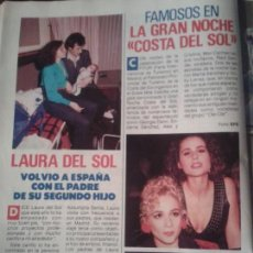 Coleccionismo de Revista Pronto: MARTA SANCHEZ - VICKY LARRAZ - ROCIO DURCAL - DUQUE DE CADIZ - 1989. Lote 76658831