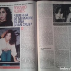 Coleccionismo de Revista Pronto: ROSARIO FLORES - IVAN - DUQUE DE CADIZ - 1989. Lote 76659047
