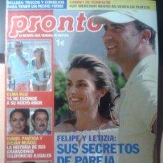 Coleccionismo de Revista Pronto: ISABEL PANTOJA - JOHN HUSTON - MADONNA - DUQUESA DE ALBA. Lote 80664574