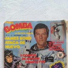 Coleccionismo de Revista Pronto: REVISTA BOMBA PRONTO N°6 1979 BIMBO DANONE BOSÉ JAMES BOND BILLY BIS. Lote 82917040