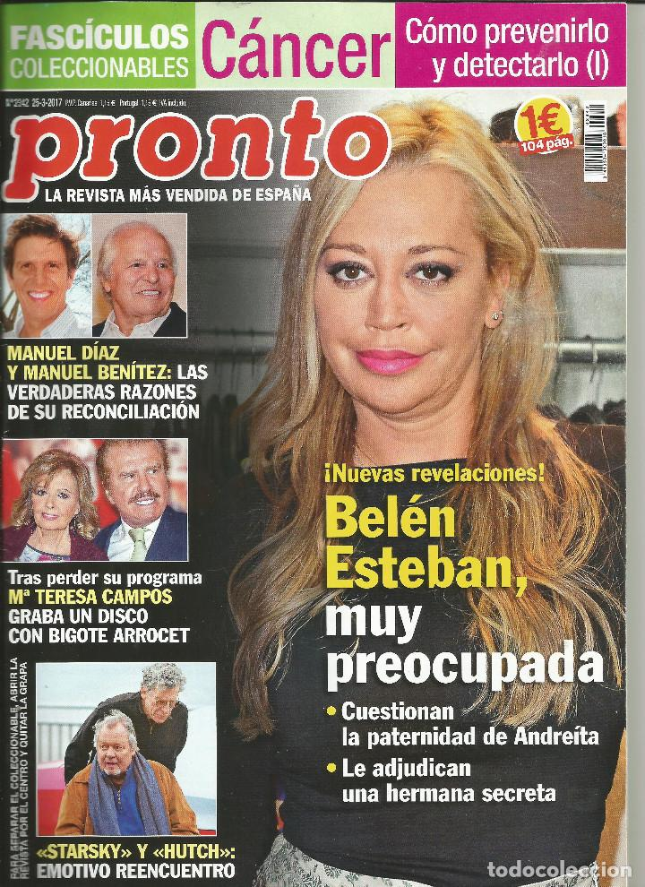 Revista pronto n mero 2342 25 de marzo de 2017 comprar for Revista pronto primicias ya