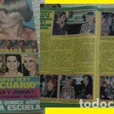 Coleccionismo de Revista Pronto: REVISTA PRONTO 1977 ROCÍO DÚRCAL BARBARA REY. Lote 90874325