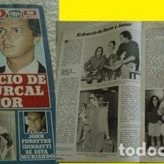 Coleccionismo de Revista Pronto: REVISTA PRONTO 1982 ROCÍO DÚRCAL. Lote 90874370