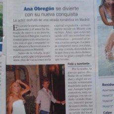 Coleccionismo de Revista Pronto: ANA OBREGON - DUQUESA DE ALBA - MONICA NARANJO - CHAVELA VARGAS. Lote 91326560