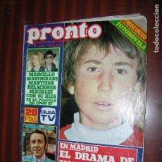 Coleccionismo de Revista Pronto: (F.1) REVISTA PRONTO Nº 302 AÑO 1978 ( POSTER DEL PLANETA DE LOS SIMIOS). Lote 96055567