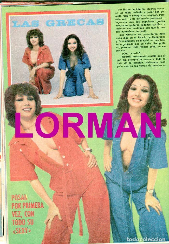 Coleccionismo de Revista Pronto: PRONTO Nº 216 2/7/1976 - LAS GRECAS UNICAS FOTO SEXI - NADIUSKA - ROCIO DURCAL - .... - Foto 2 - 96461963