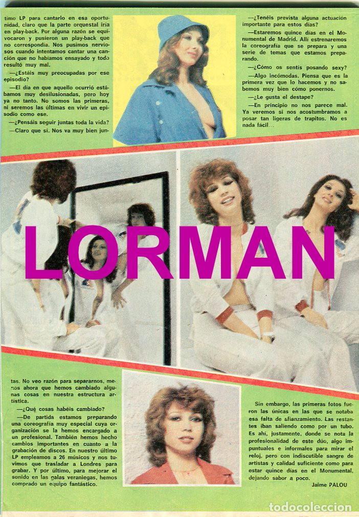 Coleccionismo de Revista Pronto: PRONTO Nº 216 2/7/1976 - LAS GRECAS UNICAS FOTO SEXI - NADIUSKA - ROCIO DURCAL - .... - Foto 3 - 96461963