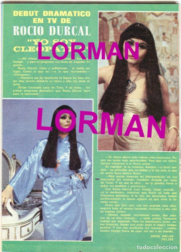 Coleccionismo de Revista Pronto: PRONTO Nº 216 2/7/1976 - LAS GRECAS UNICAS FOTO SEXI - NADIUSKA - ROCIO DURCAL - .... - Foto 4 - 96461963