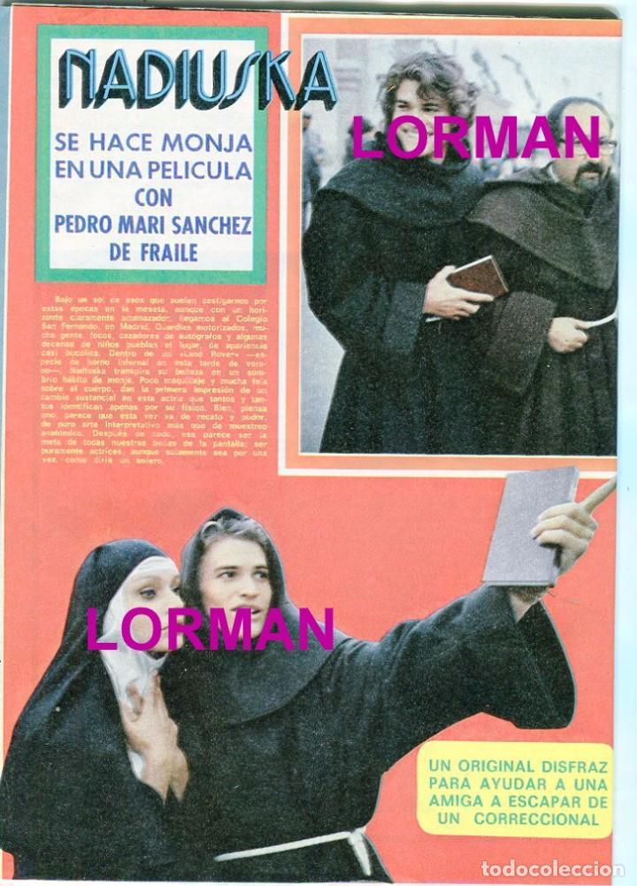 Coleccionismo de Revista Pronto: PRONTO Nº 216 2/7/1976 - LAS GRECAS UNICAS FOTO SEXI - NADIUSKA - ROCIO DURCAL - .... - Foto 5 - 96461963