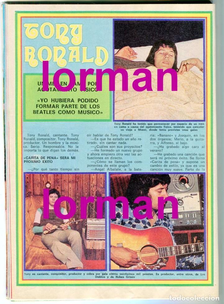Coleccionismo de Revista Pronto: PRONTO Nº 210 21/5/1976 - DON RACANO UN,DOS, TRES - IÑIGO - TONY RONALD - MARIA DURAN AZAFATA - Foto 4 - 96473839