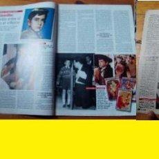 Coleccionismo de Revista Pronto: PRONTO Nº 1287 AÑO 1997 JOSELITO ANTONIO BANDERAS CONCHA VELASCO JULIO JOSE IGLESIAS ANDRES PAJARES. Lote 96671635