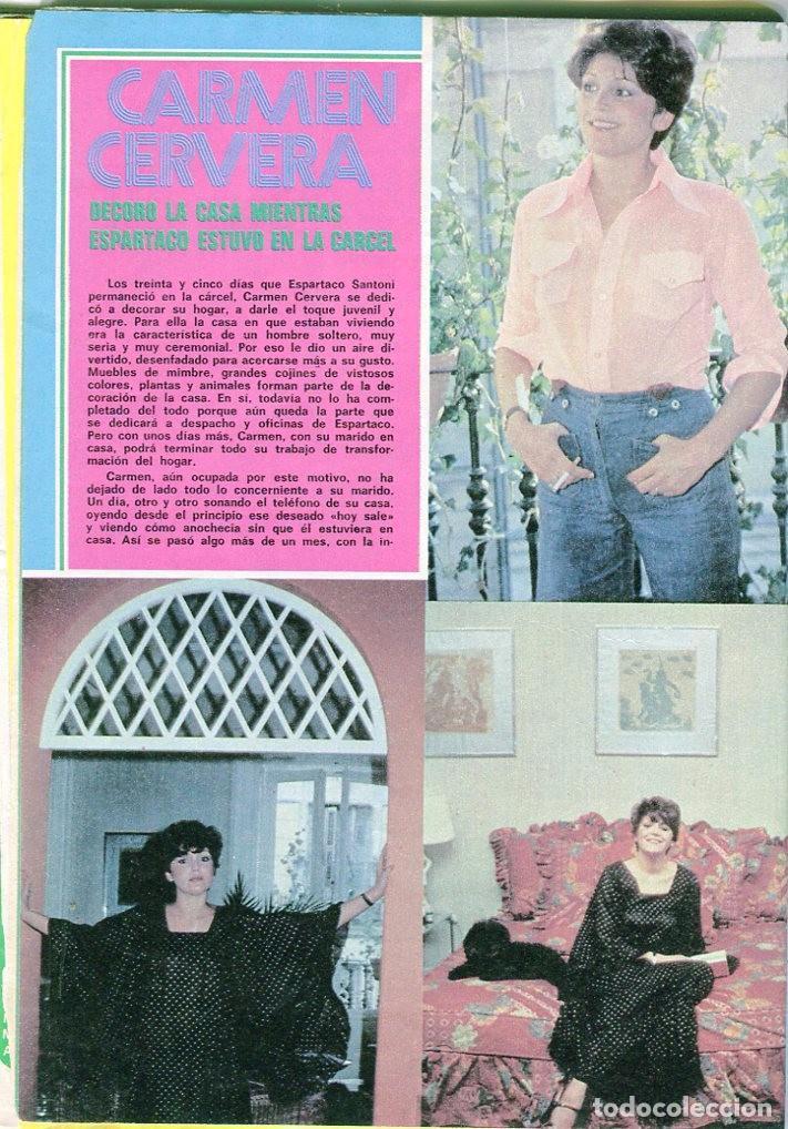 Coleccionismo de Revista Pronto: PRONTO Nº 207 30/4/1976 -VICTORIA VERA-CARMEN CERVERA-LA HORA DE...--CAMILO SESTO-POSTER JANE BIRKIN - Foto 3 - 96700611