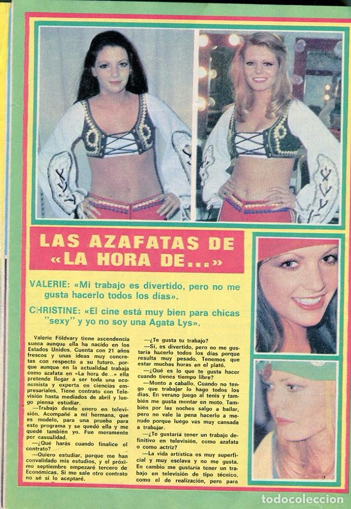 Coleccionismo de Revista Pronto: PRONTO Nº 207 30/4/1976 -VICTORIA VERA-CARMEN CERVERA-LA HORA DE...--CAMILO SESTO-POSTER JANE BIRKIN - Foto 4 - 96700611