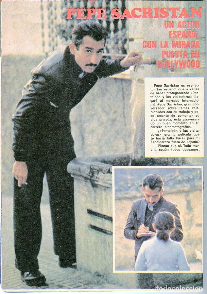 Coleccionismo de Revista Pronto: PRONTO Nº 214 88/6/1976 -ROLLING STONES-KARINA-AGATA LYS-UN DOS,TRES.. VICTORIA ABRIL-PEPE SACRISTAN - Foto 2 - 96704715