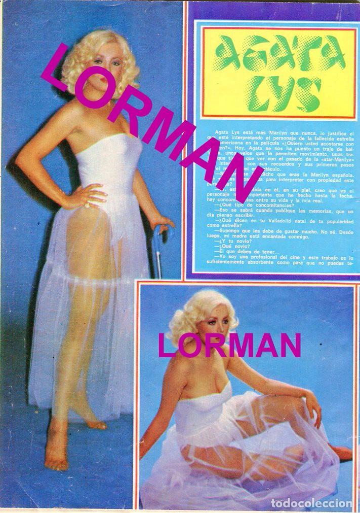 Coleccionismo de Revista Pronto: PRONTO Nº 214 88/6/1976 -ROLLING STONES-KARINA-AGATA LYS-UN DOS,TRES.. VICTORIA ABRIL-PEPE SACRISTAN - Foto 7 - 96704715