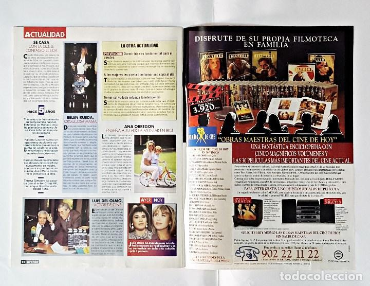Coleccionismo de Revista Pronto: REVISTA PRONTO AÑO 1995 NUMERO 1203 - Foto 2 - 98202267