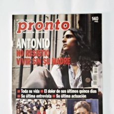 Coleccionismo de Revista Pronto: REVISTA PRONTO Nº 1205 DE 10/06/95. Lote 98202923