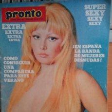 Coleccionismo de Revista Pronto: PRONTO EXTRA Nº 1. Lote 98222475