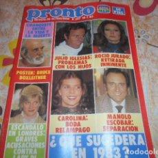 Coleccionismo de Revista Pronto: PRONTO - 10 -1 -1983 - MECANO -3F -1P. Lote 100748347
