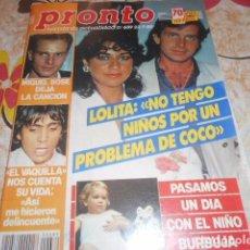 Coleccionismo de Revista Pronto: PRONTO - 22 -7 - 1985 - MECANO 4F -2P. Lote 100748515
