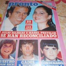 Coleccionismo de Revista Pronto: PRONTO - 2 -3 -1981 - LOS ANGELES DE CHARLIE 2F -1P. Lote 100749783