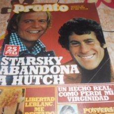 Coleccionismo de Revista Pronto: PRONTO - 17 -7 -1978 - ROCIO DURCAL 8F -2P. Lote 100751007