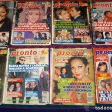 Coleccionismo de Revista Pronto: PRONTO Nº 932 RESERVADA.. Lote 104429303