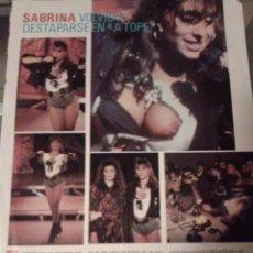 Coleccionismo de Revista Pronto: SABRINA SALERNO - RECORTE REVISTA . Lote 104755943