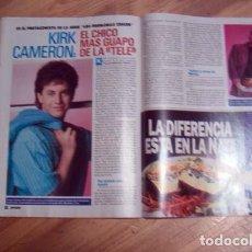Coleccionismo de Revista Pronto: PRONTO / ALFONSO DE BORBON, DUQUE DE CADIZ, MARIBEL VERDU, KIRK CAMERON, ROCIO DURCAL, LORENZO LAMAS. Lote 106660959