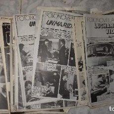 Coleccionismo de Revista Pronto: 55 REVISTA FASCICULOS FOTONOVELA COMPLETA DE REVISTA PRONTO.AÑOS 70. Lote 107463347