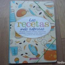 Coleccionismo de Revista Pronto: LAS RECETAS MAS SABROSAS,REVISTA PRONTO 2017-2018.NUEVO.COMPLETO.. Lote 112205699