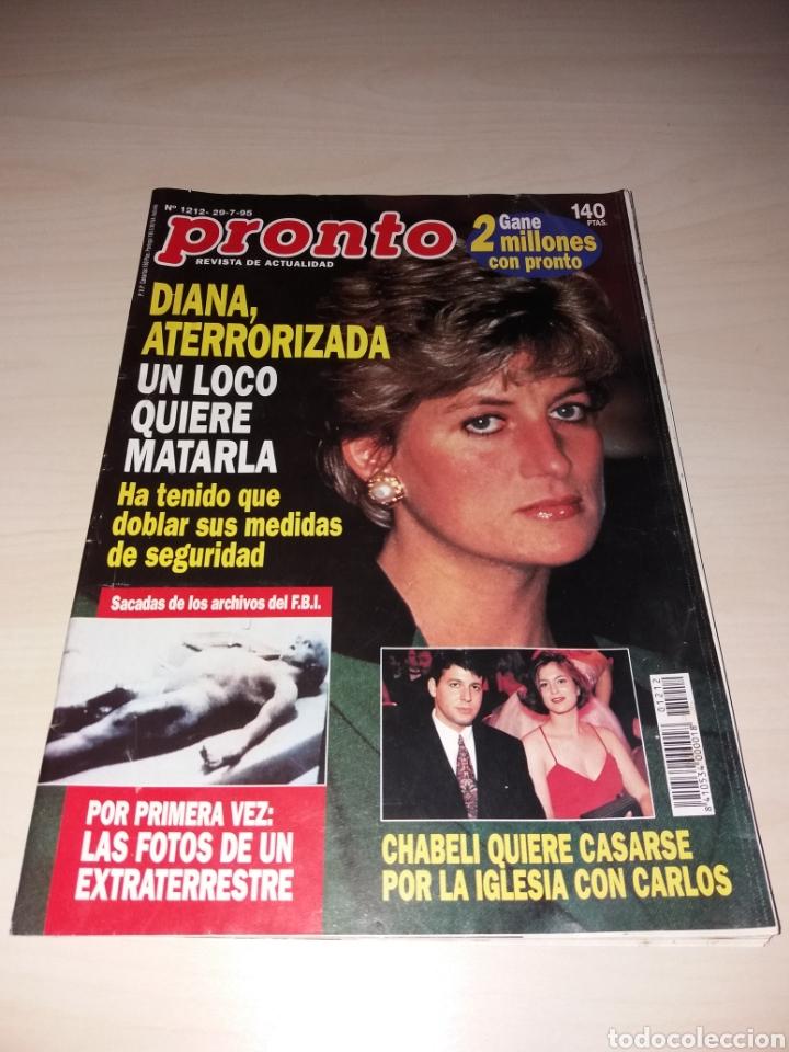PRONTO - 29-7-95 - PRINCESA DIANA - CHABELI - MIGUEL INDURÁIN - ÁNGEL CRISTO - FREDDY MERCURY (Papel - Revistas y Periódicos Modernos (a partir de 1.940) - Revista Pronto)