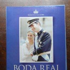 Coleccionismo de Revista Pronto: LA BODA REAL. FELIPE DE BORBON & LETICIA ORTIZ. REVISTA PRONTO. SUPLEMENTO ESPECIAL. Lote 113230159