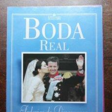 Coleccionismo de Revista Pronto: BODA REAL. FEDERICO DE DINAMARCA Y MARY DONALDSON. REVISTA PRONTO. Lote 113230319