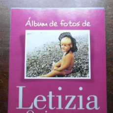 Coleccionismo de Revista Pronto: ALBUM DE FOTOS DE LETIZIA ORTIZ. LA VIDA EN IMAGENES DE NUESTRA FUTURA REINA. REVISTA PRONTO. Lote 113230511
