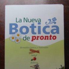 Coleccionismo de Revista Pronto: LA NUEVA BOTICA DE PRONTO. REMMEDIOS SANOS Y NATURALES, SALUD, BELLEZA Y COCINA. 181 FASCICULOS. Lote 113234407