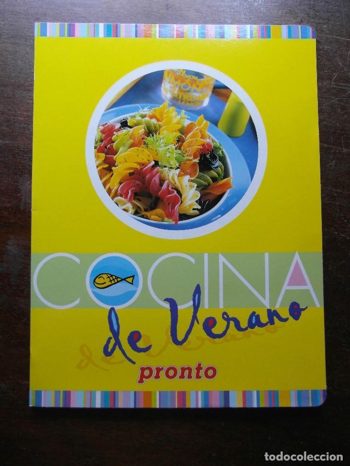 COCINA DE VERANO. REVISTA PRONTO. 18 FASCICULOS (Papel - Revistas y Periódicos Modernos (a partir de 1.940) - Revista Pronto)
