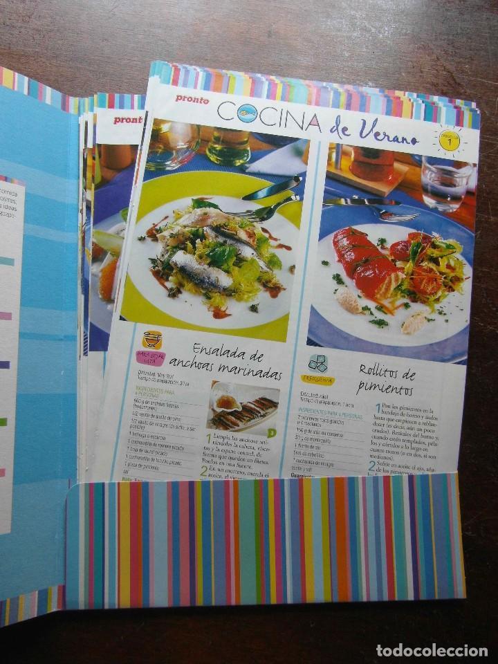 Coleccionismo de Revista Pronto: Cocina de verano. Revista Pronto. 18 fasciculos - Foto 2 - 113235295
