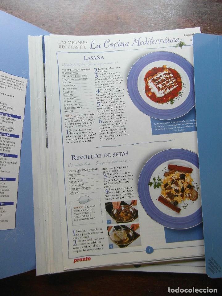 Coleccionismo de Revista Pronto: Las mejores recetas de cocina Mediterranea. Revista Pronto. 50 fasciculos - Foto 2 - 286614363