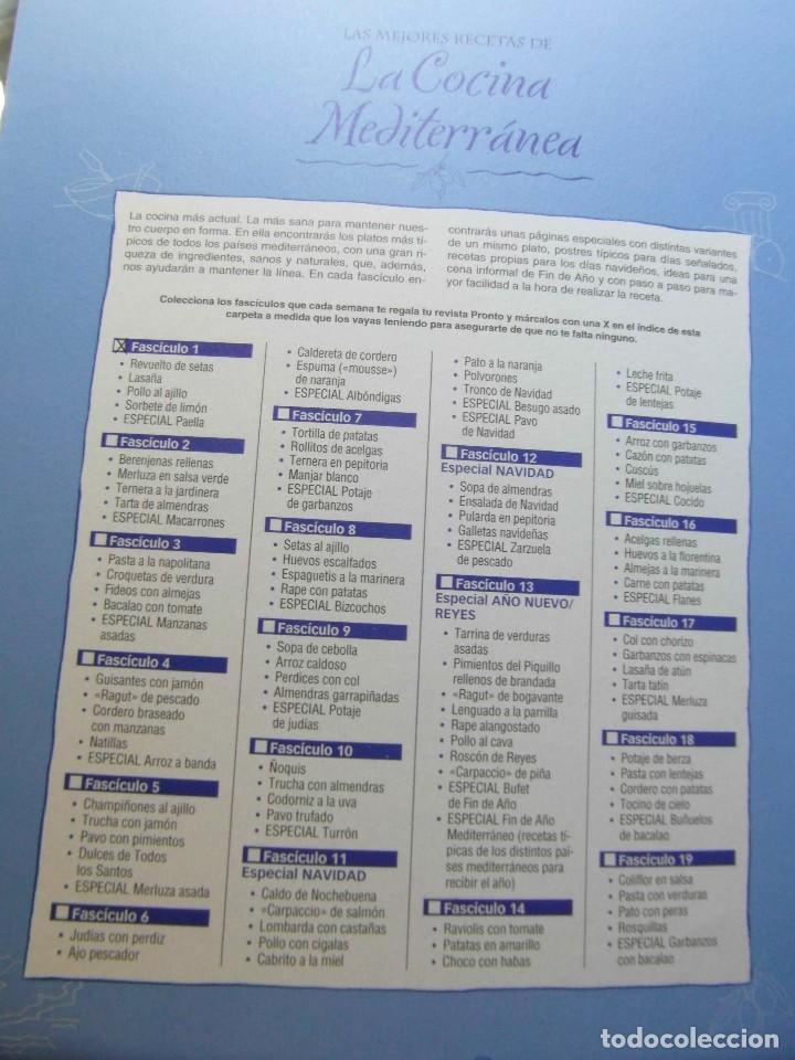 Coleccionismo de Revista Pronto: Las mejores recetas de cocina Mediterranea. Revista Pronto. 50 fasciculos - Foto 3 - 286614363