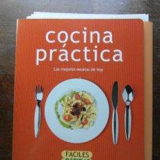 Coleccionismo de Revista Pronto: COCINA PRACTICA. LAS MEJORES RECETAS DE HOY. REVISTA PRONTO. 52 FASCICULOS. Lote 113240239