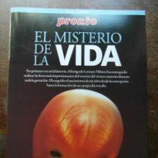 Coleccionismo de Revista Pronto: EL MISTERIO DE LA VIDA. REVISTA PRONTO. Lote 113242163