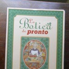 Coleccionismo de Revista Pronto: LA BOTICA DE PRONTO. LA SABIDURIA DE NUESTRAS ABUELAS AL ALCANCE DE TODOS. 104 COLECCIONABLES. Lote 113242671